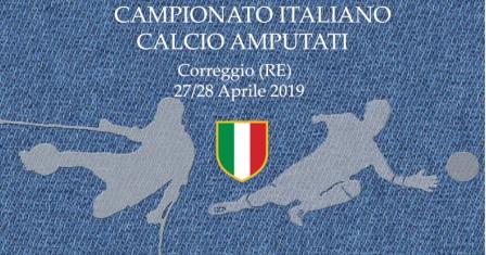 E' partito da Correggio  il primo Campionato Italiano di Calcio amputati