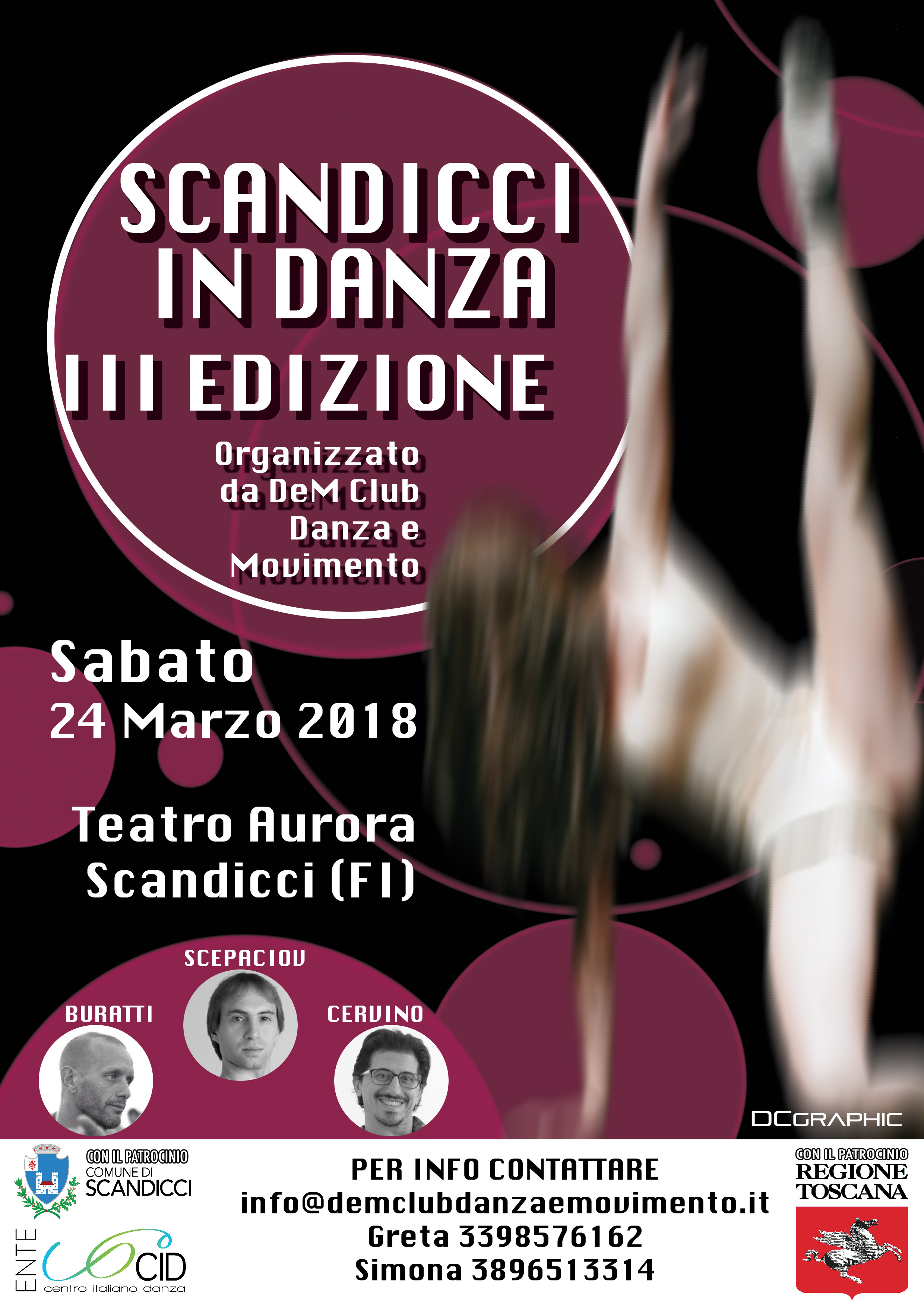 """III Edizione del Concorso  """"ScandicciInDanza"""""""