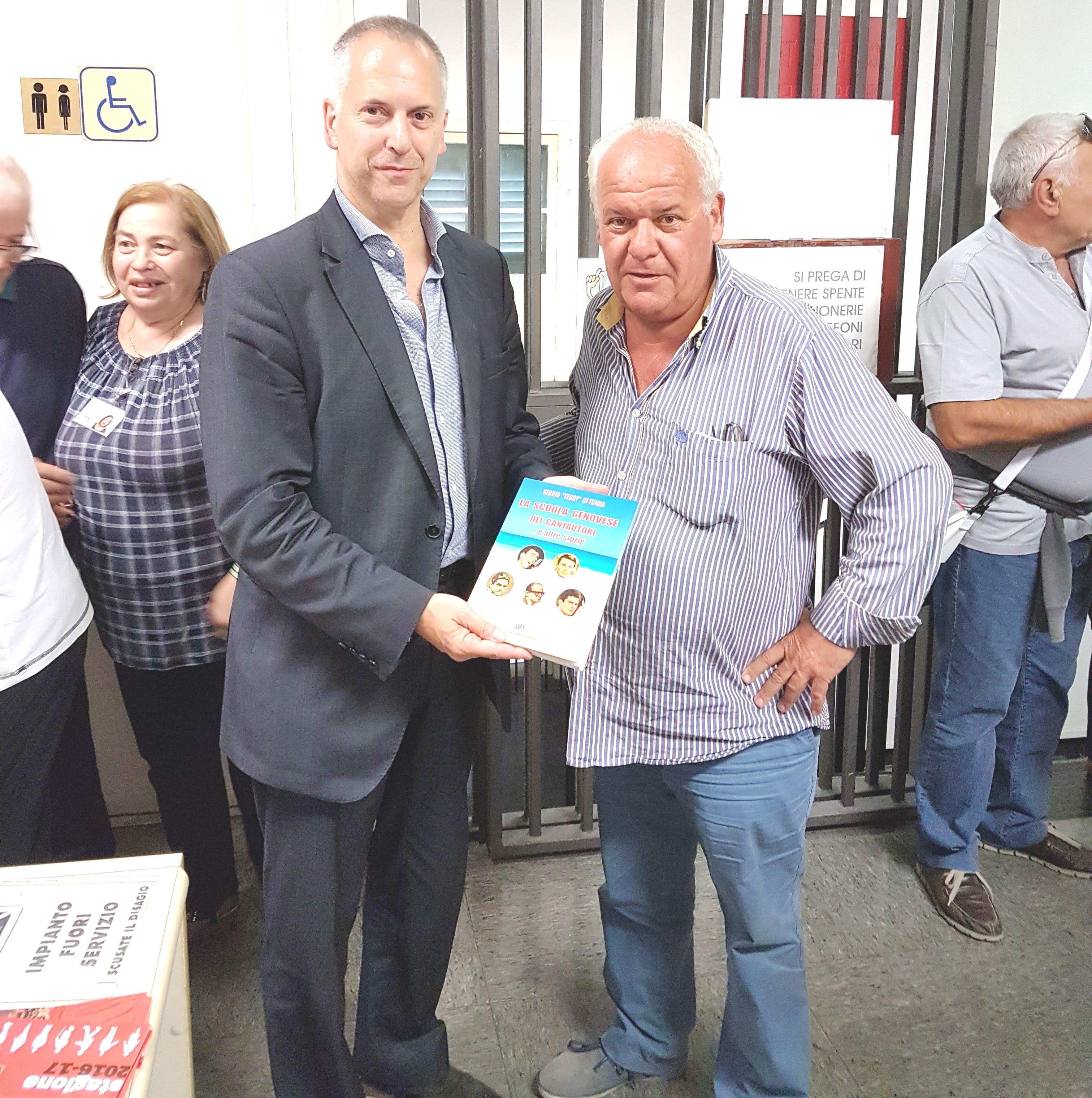 GENOVA: inaugurata la biblioteca Pier Santelli