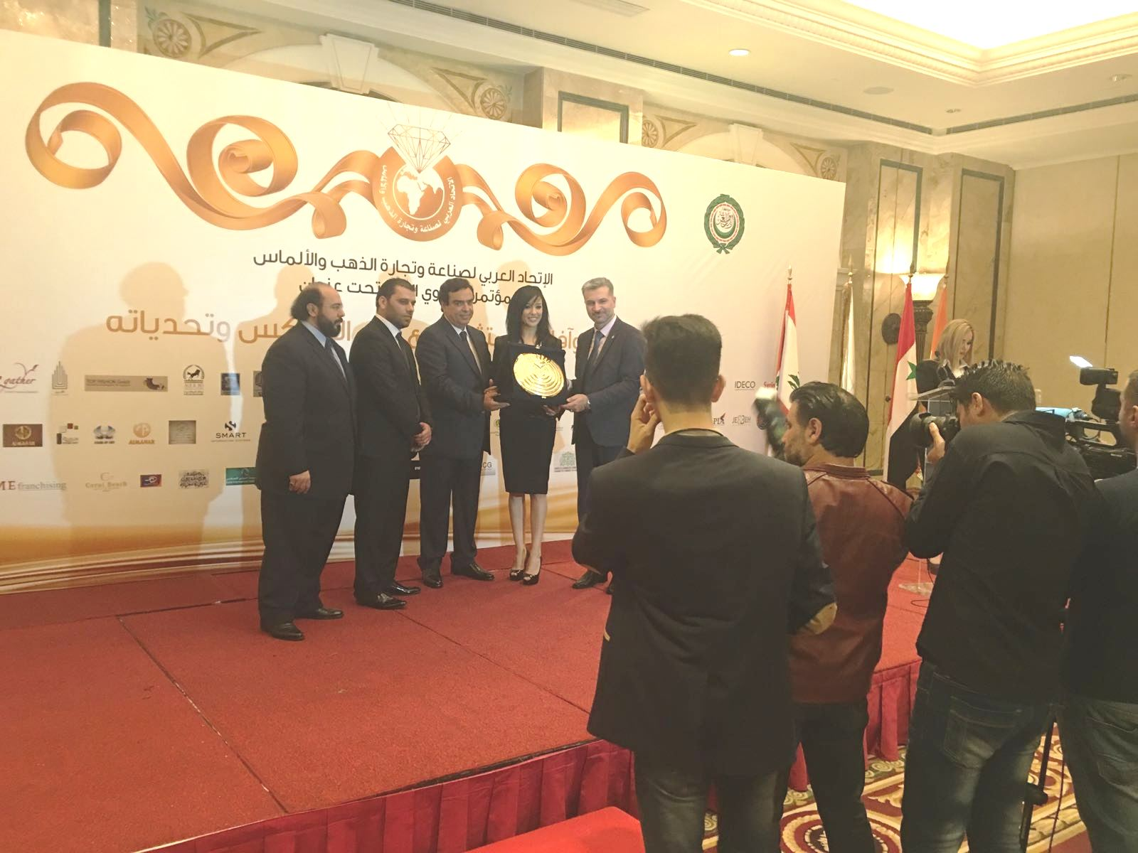 """Continua il rapporto di collaborazione per la solidarietà  Fenalc  e  """"The Arabic Union for the Industry and Commerce of Jewelries and Diamonds"""""""
